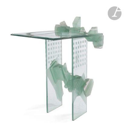 MatÉi NEGREANU [ROUMANIE] (NÉ EN 1941) Table-sculpture...