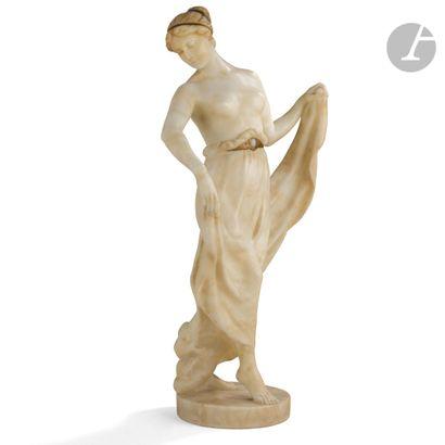 MAX VALENTIN (1875-1921) Danseuse Sculpture....