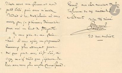 •Emmanuel CHABRIER. L.A.S., Paris 14 mars...