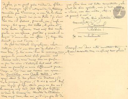•Emmanuel CHABRIER. L.A.S., Paris 5 mai...