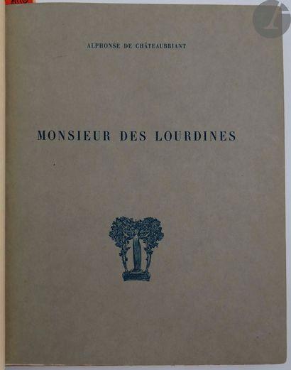 CHÂTEAUBRIANT (Alphonse de) - LABROUCHE (Pierre)....