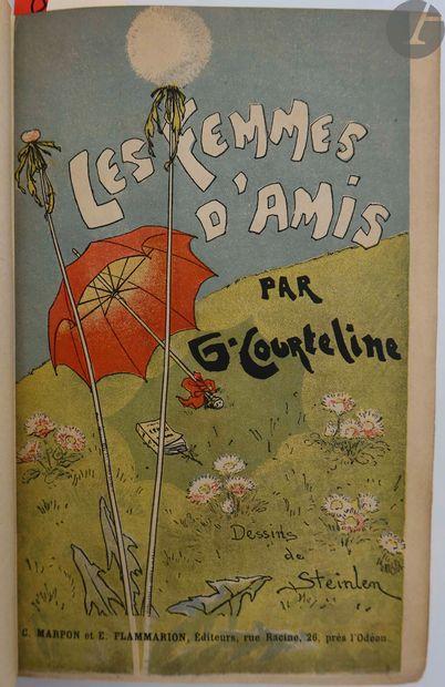 COURTELINE (Georges). Les Femmes d'amis....