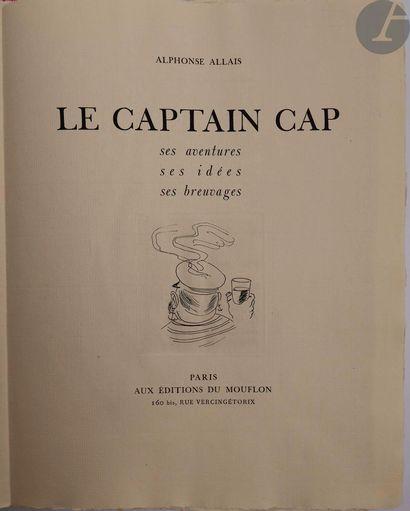 ALLAIS (Alphonse). Le Captain Cap. Ses aventures....