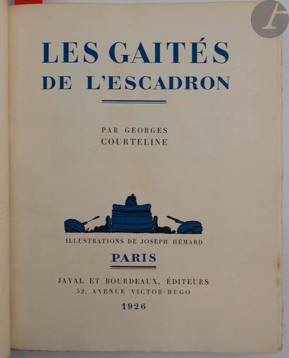 COURTELINE (Georges) - HÉMARD (Joseph). Les...