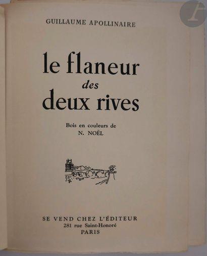 APOLLINAIRE (Guillaume). Le Flaneur des deux...