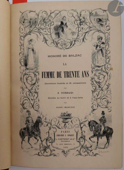 BALZAC (Honoré de). La Femme de trente Ans....