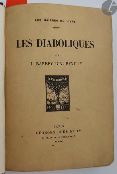 BARBEY D'AUREVILLY (Jules). Les Diaboliques....