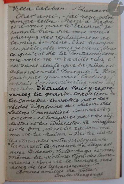 BERGERAT (Émile). L'Espagnole. Paris : Librairie...