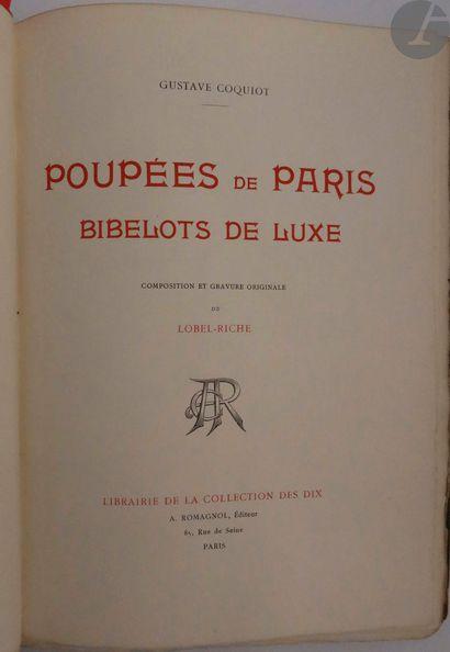 COQUIOT (Gustave) - LOBEL-RICHE (Alméry)....
