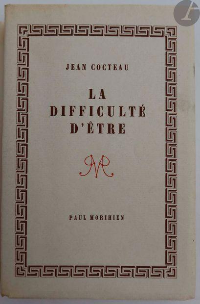 COCTEAU (Jean). Ensemble de 6 ouvrages :...