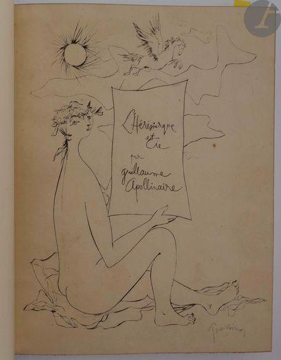 APOLLINAIRE (Guillaume). L'Hérésiarque et...