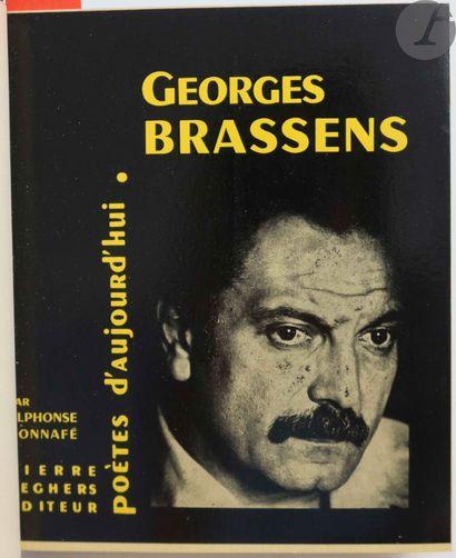 [BRASSENS (Georges)] - BONNAFÉ (Alphonse)....