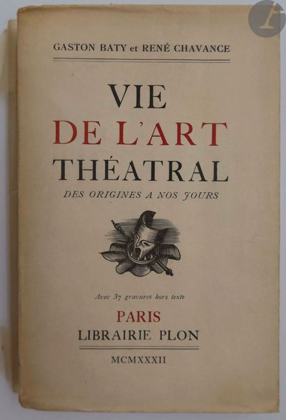 BATY (Gaston) - CHAVANCE (René). Vie de l'art...