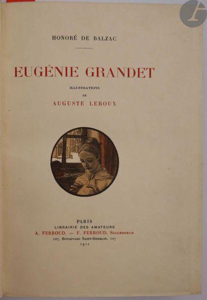 BALZAC (Honoré de). Eugénie Grandet. Paris...