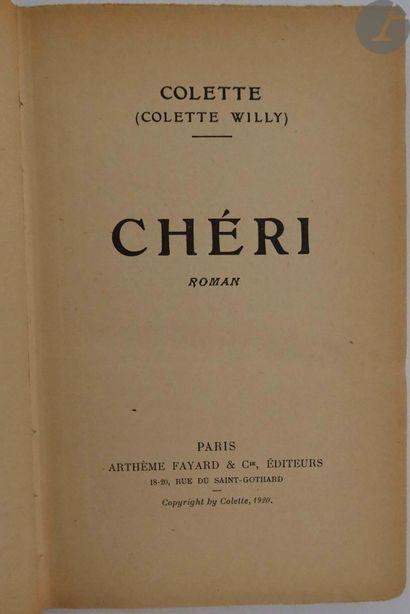 [CARCO (Francis)]. Ensemble de 3 ouvrages...