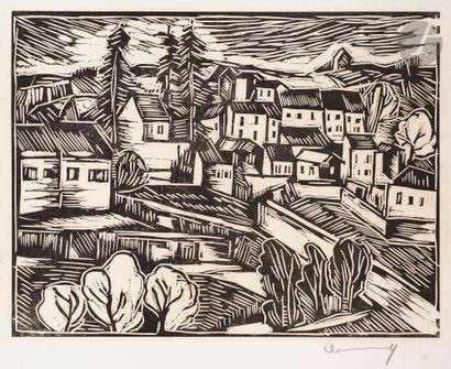 Maurice de Vlaminck (1876-1958) Montval....