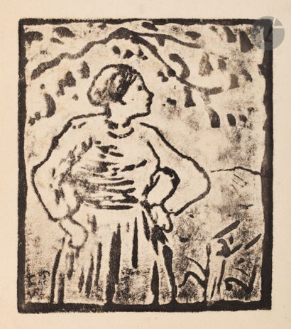 Camille Pissarro (1830-1903) Paysanne sous...