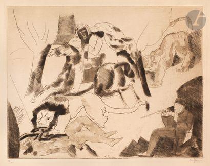 Charles Dufresne (1876-1938) Chasseurs de...