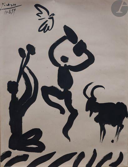 Pablo Picasso (1881-1973) (d'après) Le Joueur...
