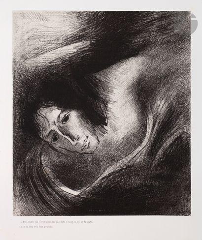 Odilon Redon (1840-1916) Et le diable qui...