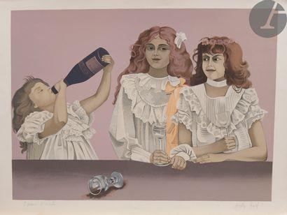 Nelly Gael (XXe siècle) Les Trois sœurs....