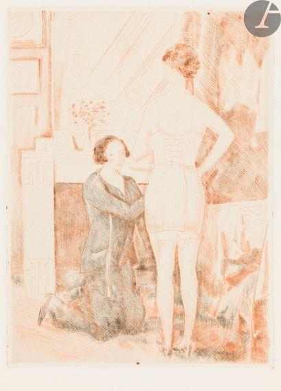 Jean-Émile Laboureur (1877-1943) Chez la...