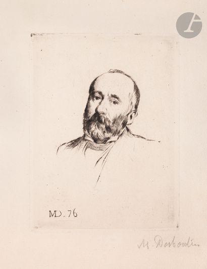 Marcellin Desboutin (1823-1902) Madame Lambert-Lassus;...