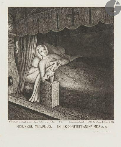 Emmanuel Phelippes-Beaulieu (1829-1874) Miserere...