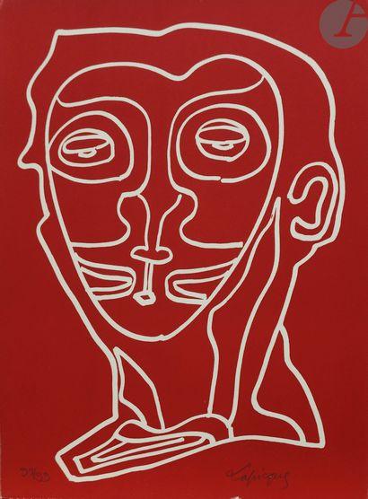 Charles Lapicque (1898-1988) Réunion de 7...