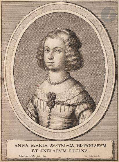 Wenceslaus Hollar (1607-1677) Anna Maria...