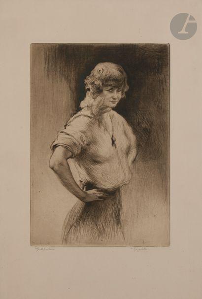 Edgar Chahine (1874-1947) Gigolette. 1924....
