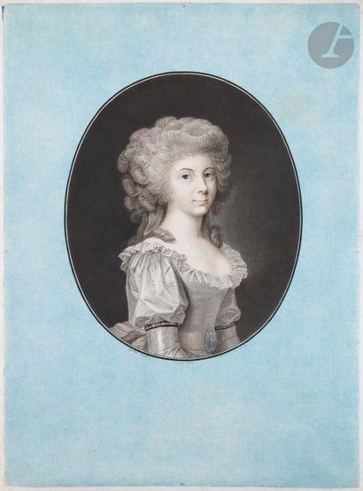 Charles-Melchior Descourtis (1753-1820) Frédérique...