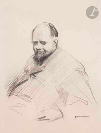 Jean-Louis Forain (1852-1931) Portrait de...