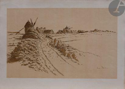Henri Rivière (1864-1951) (d'après) Paysage...
