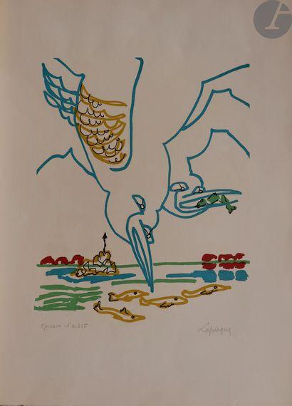 Charles Lapicque (1898-1988) Les Goélands....