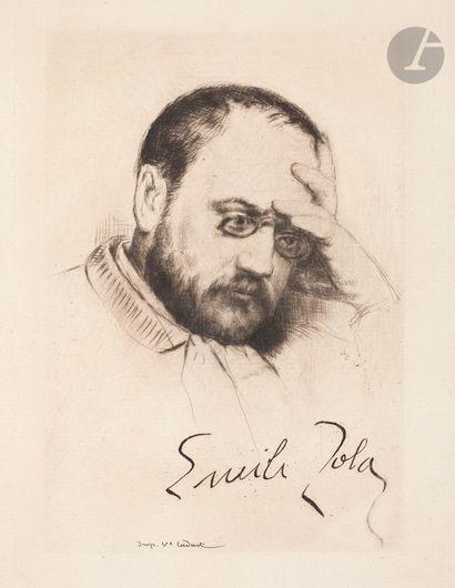 Marcellin Desboutin (1823-1902) Émile Zola,...