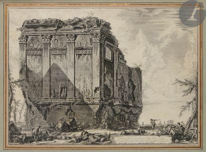 Giovanni Battista Piranesi (1720-1778) Tempio antico volgarmente detto della Salute......