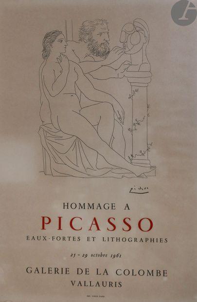 Pablo Picasso (1881-1973) (d'après) Affiche....