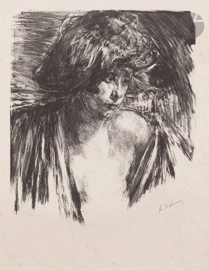 Albert de Belleroche (1864-1944) Femme en...
