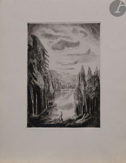 Hermine David (1890 - 1970) Ensemble de 7...