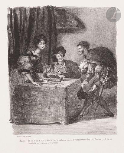 Eugène Delacroix (1798-1863) Méphistophélès...