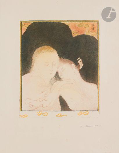 Maurice Denis (1870-1943) Tendresse, ou Madeleine....