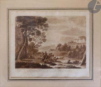 Richard Earlom (1743-1822) Scènes pastorales...