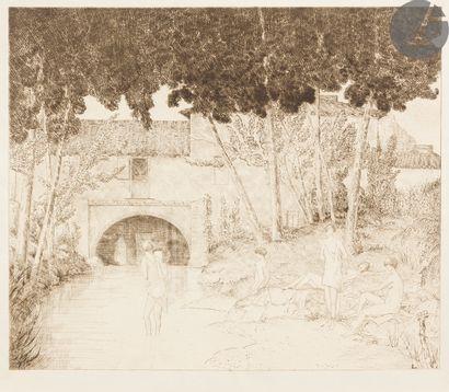 Jean-Émile Laboureur (1877-1943) Le Moulin...