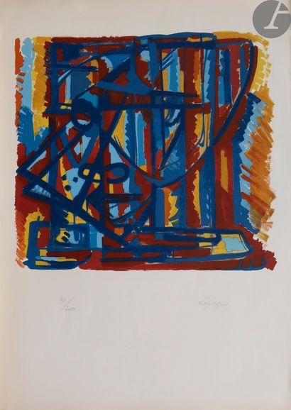 Charles Lapicque (1898-1988) Figure. 1939....