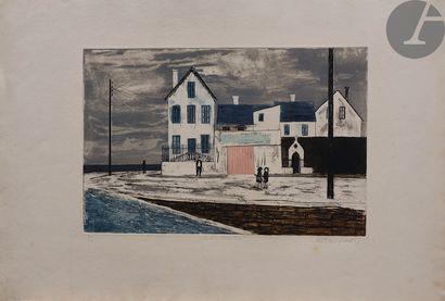 Alistair Grant (1925-1997) Eva's House. 1956....