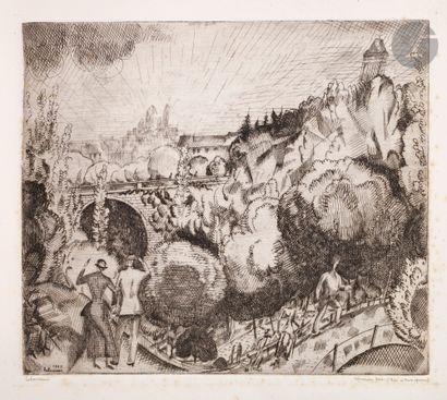 Jean-Émile Laboureur (1877-1943) Paysages...