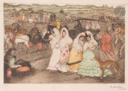 Ricardo Canals y Llambi (1876-1931) Promenade...