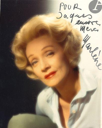 Marlene DIETRICH (1901-1992). Photographie...