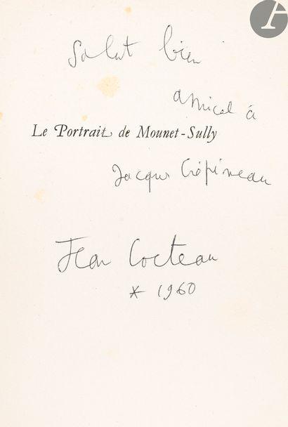 COCTEAU (Jean). Portrait de Mounet-Sully....